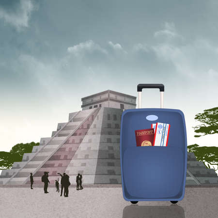 guided tour to the Chichén Itzá pyramid