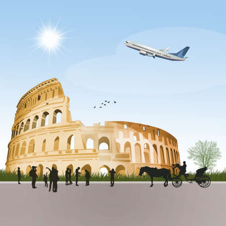 travel to the visit the colosseum