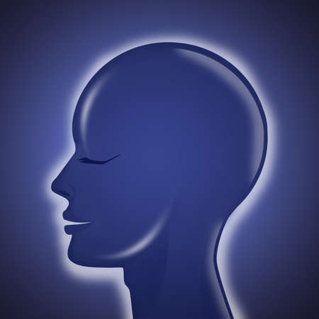 illustration of head