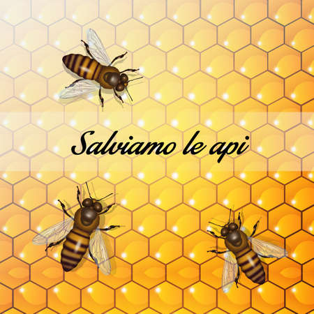 the importance of bees for the planet 스톡 콘텐츠 - 129520384