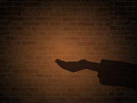 hand asking for charity Zdjęcie Seryjne