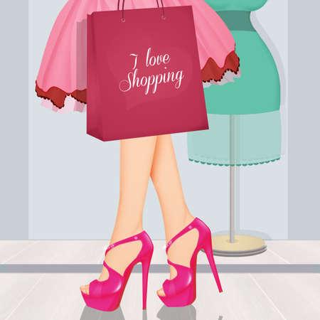 women love shopping