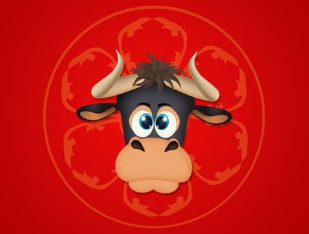 Chinese New Year, Year of the Ox Banco de Imagens