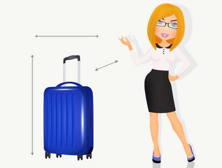 measures for boarding suitcase
