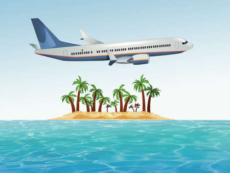 travel on a desert island
