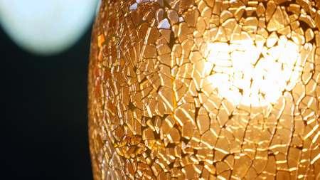 Beautiful Lighting Decor Close up.