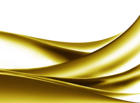 Abstract background gold Curve, wave.