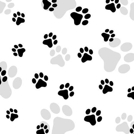 Paw print pet Stock Photo