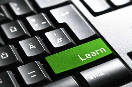 Learn, Keyboard button