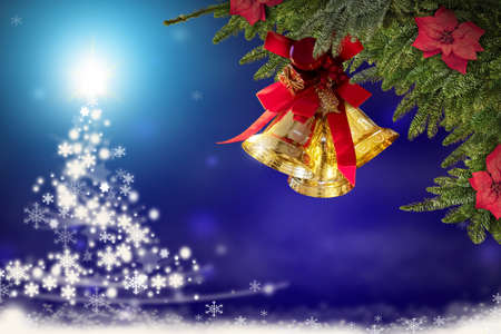 Christmas bells, Holiday golden