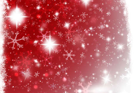 Christmas Snow background holiday Stock Photo