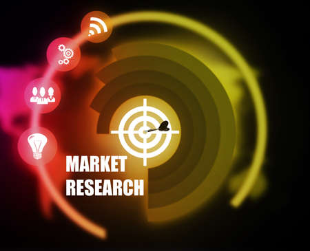Market Research Business illustration