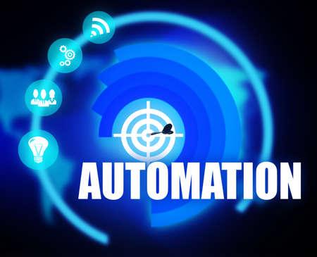 Automation Business illustration