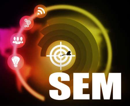 SEM business Reklamní fotografie