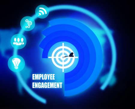 Employee Engagement Reklamní fotografie