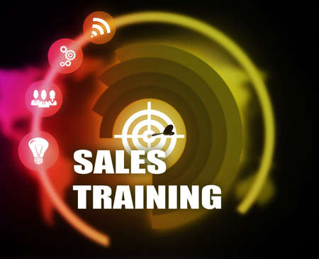 Sales Training Business illustration