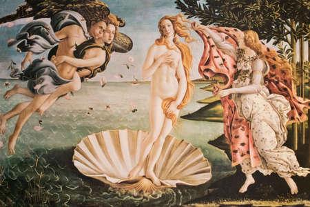 The Birth of Venus, Venus Anadyomene, art Standard-Bild
