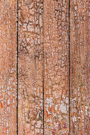 Background or texture, old paint in the wood wall. photo