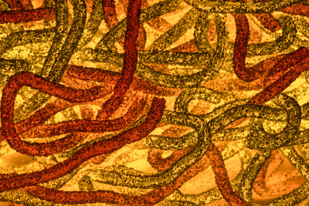 resembling: abstract image resembling bacteria worms abstract texture