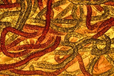 gusanos: Imagen abstracta que se asemeja bacterias gusanos textura abstracta Foto de archivo