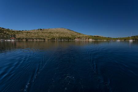 Kornati national park Croatia. Islands in the Adriatic Sea.