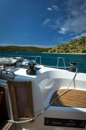 Yacht holidays in the Adriatic Sea in Croatia. Yacht races.