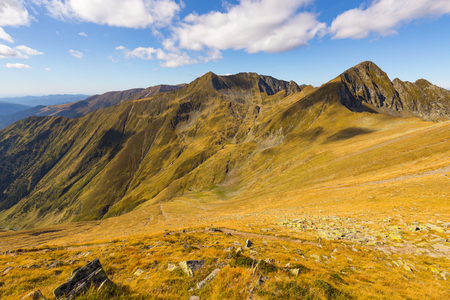 Fagaras are the highest mountains of the Southern Carpathians in Romania.
