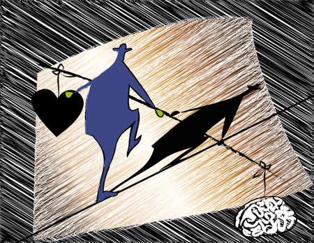 pitfall: balance between reason and feeling