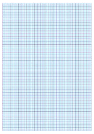 A3 GRAPH PAPER STANDARD FOR PRINTING WITH cm and 5 mm separators Illustration