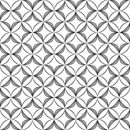 Arabesque seamless fence demicircles Stock Vector - 15901969