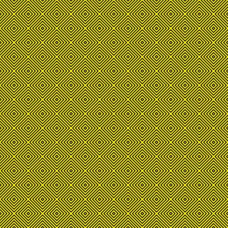 Attention sign Diamond Cross yellow on black seamless wall Stock Vector - 15994474