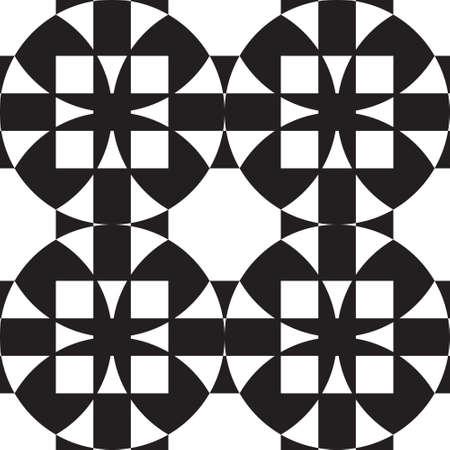 Abstract virtual arabesque X four background Stock Vector - 16476380