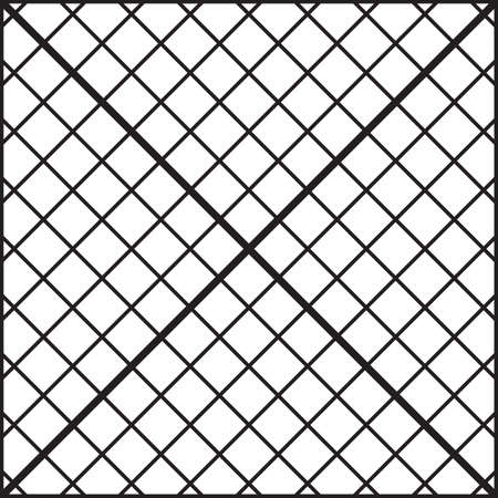 Fence of diagonal bars seamless background Stock Vector - 17023143