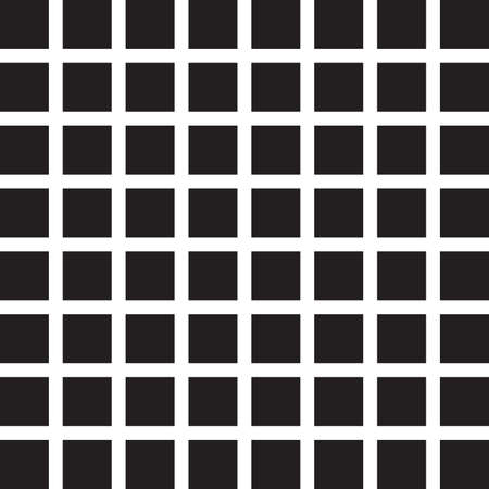 Seamless black tile wall Vector