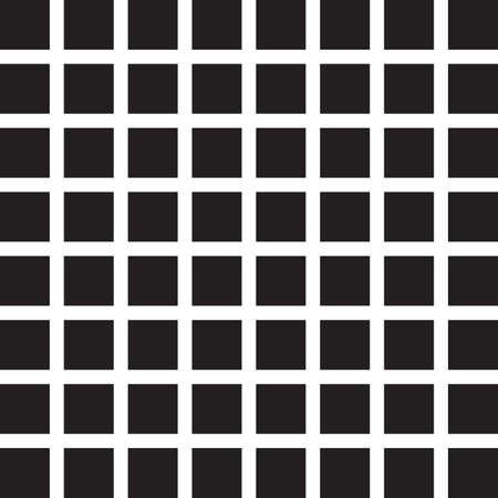 Seamless black tile wall Stock Vector - 17331717