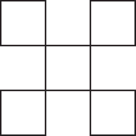 guarded: square guarded with squares