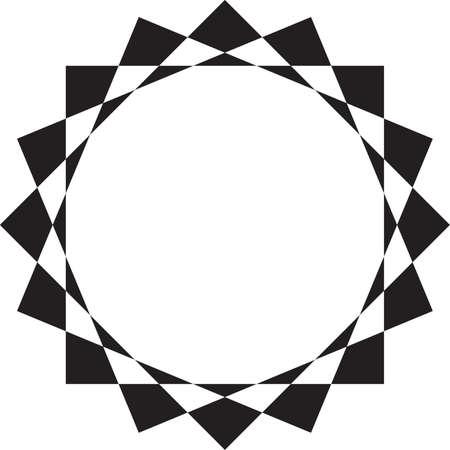 Abstract circular frame design background Stock Vector - 17961118
