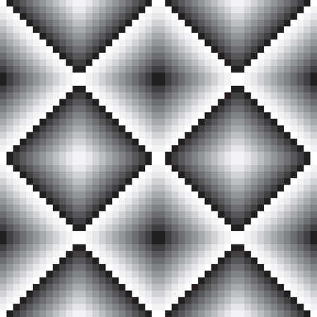 alternating: Escala de grises azulejo de la pared sin costura luces y sombras alternantes