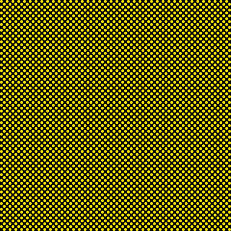 baclground: Yellow dots on black seamless baclground