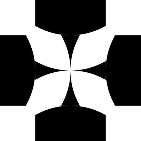 abstract cross: Black abstract croce sugestion