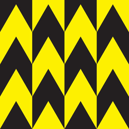 yellow attention: Black and Yellow attention wall