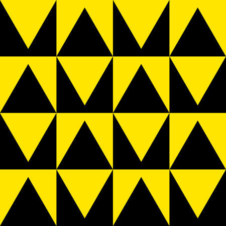 yellow attention: Black and Yellow attention shapes