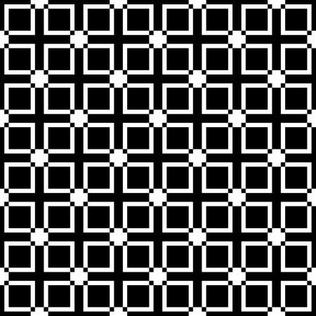 Squares diferences fence element cross sugestion seamless background Vector