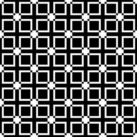 Squares diferences fence element T plus T shape sugestion seamless background Vector