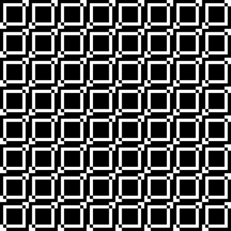 Squares diferences fence elements seamless background Vector