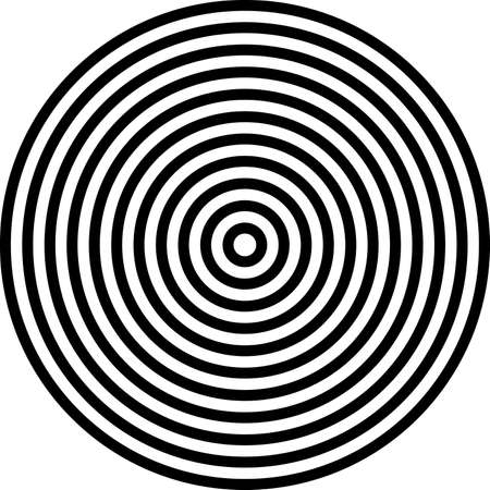 concentric circles background