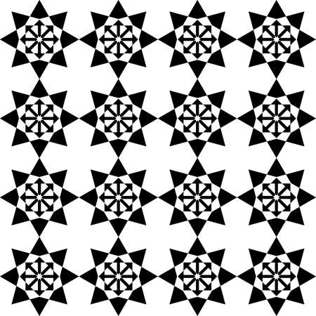 pseudo black star symbol x16 Stock Vector - 18996692