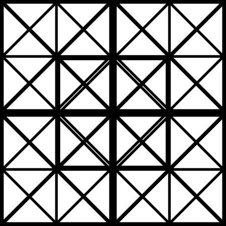 diagonals: Black square with cross diagonals window sugestion background