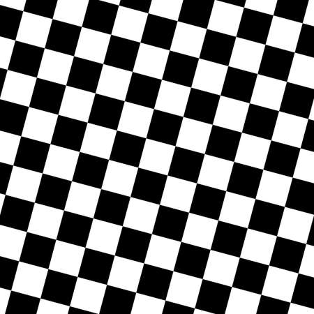 Oblique chessboard style background Vector