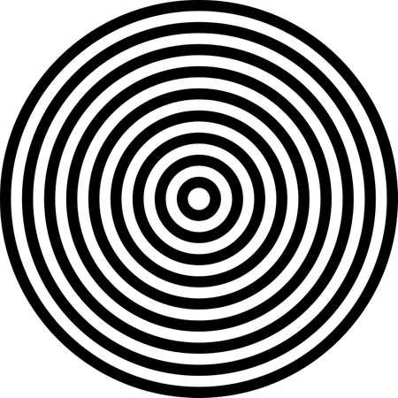 Concentrische cirkels achtergrond